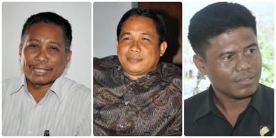 Sulaiman MT SH, M Aminurlah, SE dan Edy Muhlis, S.Sos. Foto: Bin