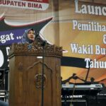 KPU Gelar Lounching Pemilihan Bupati dan Wabup Bima