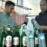 Razia Pekat, 48 Botol Miras Diamankan