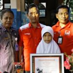 Siswi SDN 1 Sila Raih Juara Dua Nasional Video Indicreation 2015