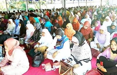 Suasana acara Isra' Mi'raj di Kabupaten Bima. Foto: Hum