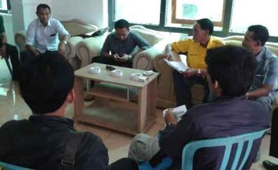 Dzul Amirulhaq saat mendaftar di Golkar. Foto: Teta