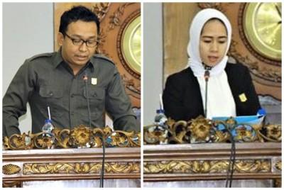 Edi Ihwansyah SE dan Muthmainnah. Foto: Bin