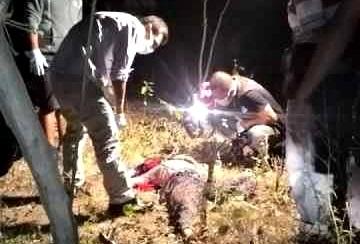 Hadijah saat ditemukan tewas di Kebun. Foto: Teta