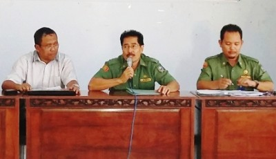 Kepala Bappeda saat memberikan arahan. Foto: Hum