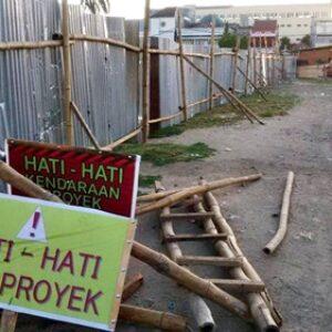 Ketua DPRD Pertanyakan Proyek Taman di Lapangan Merdeka Bima