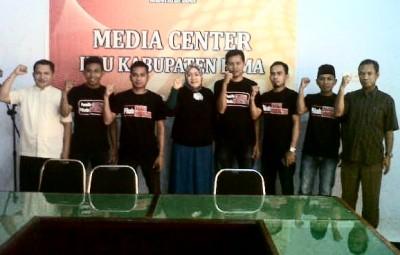 GEMA PIS bersama jajaran KPU Kabupaten Bima. Foto: Bin
