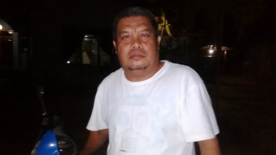 Ketua RT 01 Keluarahan Melayu, Gunawan Muhammad. Foto: Bin