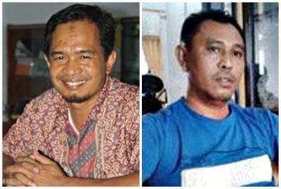 Ilham Yusuf dan Wahyudin. Foto: Bin
