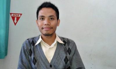 Kasi Pelayan Publik Bulog Subdrive II Bima, Sawaludin Susanto. Foto: Teta