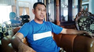 Ketua DPD II Partai Golkar Kubu Agung Laksono, Wahyudin S.Ag. Foto: Bin