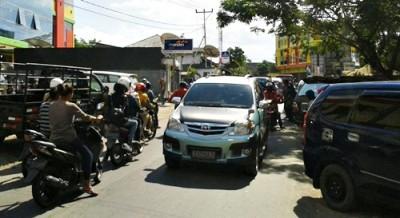 Parkiran Bolly Padat Merayap. Foto: Teta