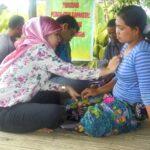Lakpesdam Gelar Pelayanan Kesehatan Gratis di Oi Bura
