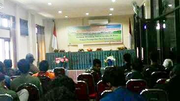 Seminar Refleksi Lingkungan Hidup. Foto: Bin
