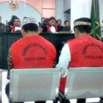 Pembunuh Kaur Desa Wane Divonis 20 Tahun Penjara