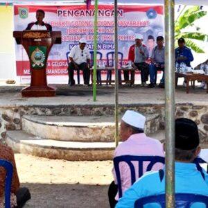 BBGRM di Soromandi, Masyarakat Diminta Hidupkan Gotong Royong