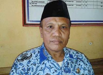 Camat Langgudu Drs. Muhammad Rum MSi. Foto: Teta