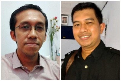 Dipo Iqbal, SH dan IPTU Yerry T Putra, SH. Foto: Teta