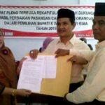 KPU Tetapkan Pasangan KH Lolos Syarat Pencalonan