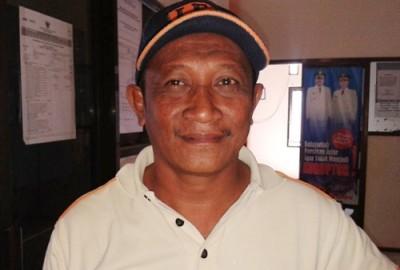 Kabid Pertamanan DKPP Kota Bima, H. Ahmad. Foto: Teta