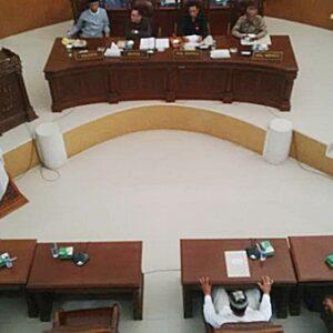 DPRD Kota Bima Paripurna APBD Perubahan 2015