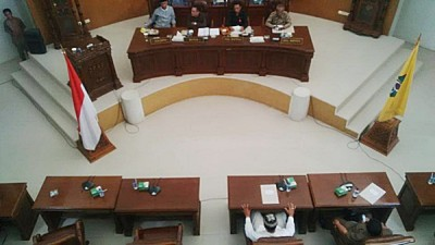 Paripurna DPRD Kota Bima. Foto: Bin