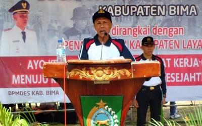 Penjabat Bupati Bima Drs. H. Bachrudin MPd. Foto: Hum