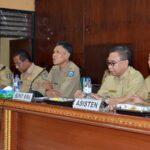 Hari Pertama, Penjabat Bupati Bima Pimpin Rakor
