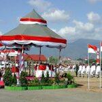 Upacara HUT RI Pemkab Bima, Khidmat