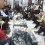 Mantan Camat dan Tokoh Ambalawi Bertandang ke Rumah Dae Dinda