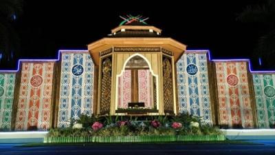 Arena utama MTQ Tingkat Provinsi di Kota Bima. Foto: Hum
