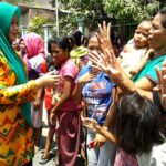 Berkunjung ke Belo, DINDA Disambut Meriah