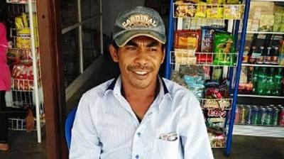 Kepala Desa Oi Bura Kecamatan Tambora, Wahyudin. Foto: Ady