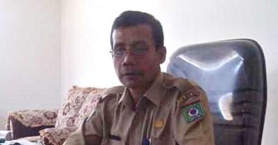 Kepala KPPT Kota Bima, Drs A Haris. Foto: EM