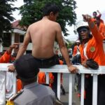Demo Pasar Amahami, Pol PP Represif, Mahasiswa Terluka