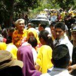 Ke Ambalawi, DINDA Dibanjiri Pendukung