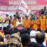 Di Belo, 3000 Tim Relawan DINDA Dikukuhkan