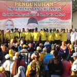 DINDA Kukuhkan 350 Tim Relawan Kecamatan Woha