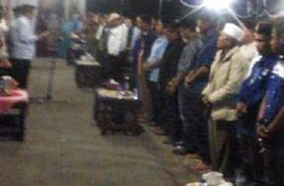 Pengukuhan Tim Pemenangan Masyarakat Wera. Foto: Ady
