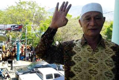 Pengusaha Wera H. M. Saleh Suling. Foto: Noval