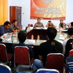 Bahas Kerjasama, KPU Rakor dengan Wartawan