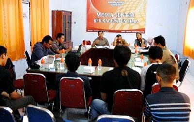 Rakor KPU dan Wartawan. Foto: Ady