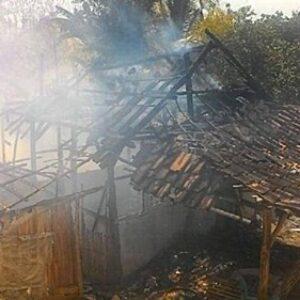 Kebakaran di Dodu, Satu Rumah Ludes