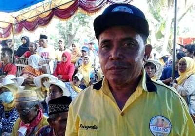 Sekretaris Tim Koalisi Ir. Suryadin. Foto: Noval