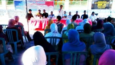 Sembilan Anggota DPRD Kota Bima Dapil 3 saat Reses di kelurahan Rite. Foto: Bin