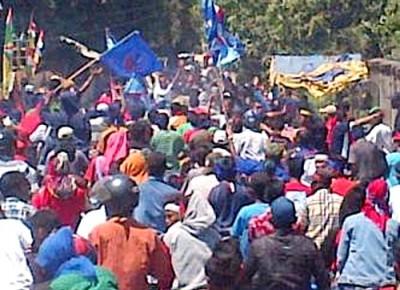 Suasana Kampanye pasangan SYUKUR di Wera. Foto: Ady
