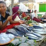 Pedagang Ngaku Rugi Jualan di Pasar Amahami