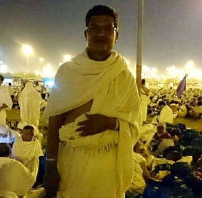 Abdul Khayir saat berada di Tanah Suci.