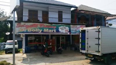 Bolly Mart di Kelurahan Sadia. Foto: Bin