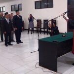 Dua Pejabat Struktural PN Raba Bima Dilantik